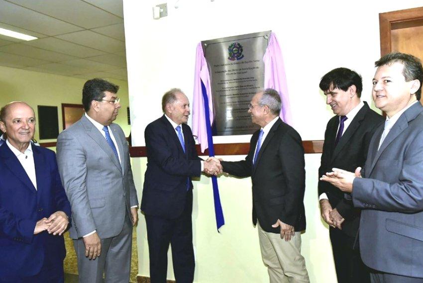 Governo participa de inauguração da revitalização do Fórum