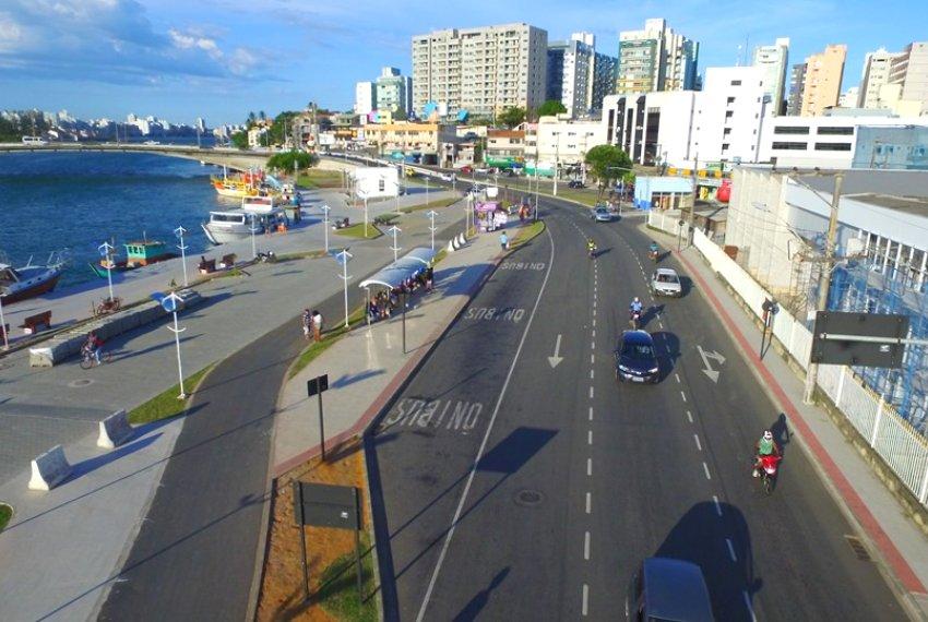 Reurbanização da Orla de Guarapari está em fase final