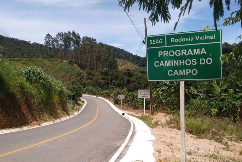 Governo inaugura trecho do Caminhos do Campo em Ibatiba